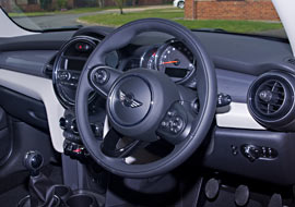 Interior view of our smart Mini manual Car